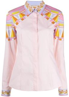 Emilio Pucci geometric print shirt