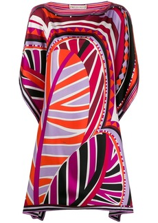 Emilio Pucci graphic-print beach dress