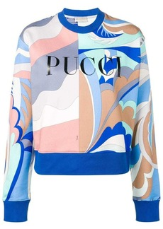 Emilio Pucci graphic print sweatshirt