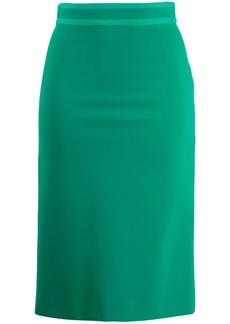 Emilio Pucci high waist pencil skirt