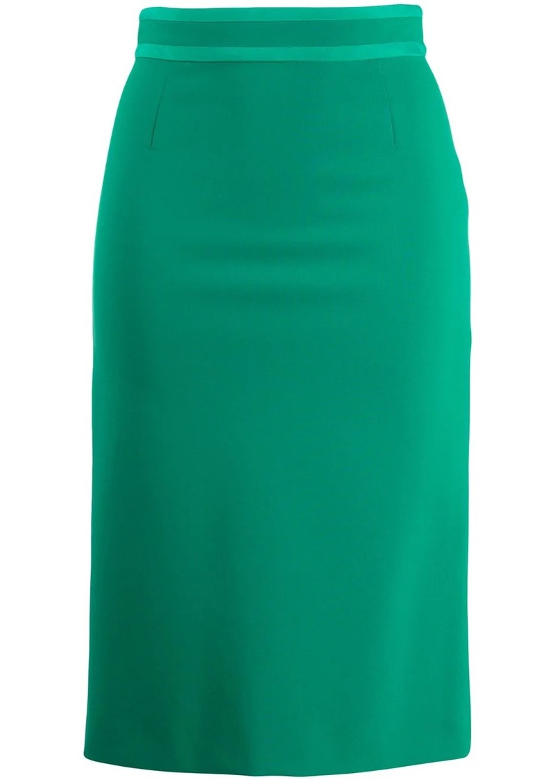 Emilio Pucci high waist pencil skirt