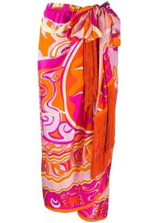 Emilio Pucci high-waist printed skirt