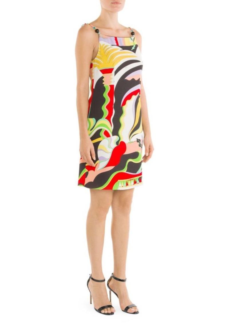 8e86a7a9c64 Emilio Pucci La Villa Print Beaded Spaghetti Strap Dress | Dresses