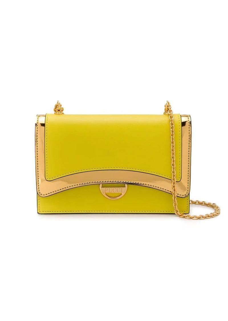 Emilio Pucci Lime Shoulder Bag