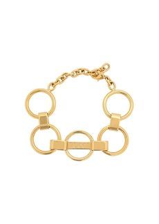 Emilio Pucci Logo Engraved Chain Bracelet
