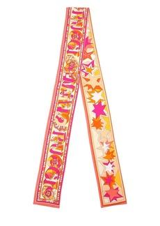 Emilio Pucci Logo Printed Silk Twill Scarf