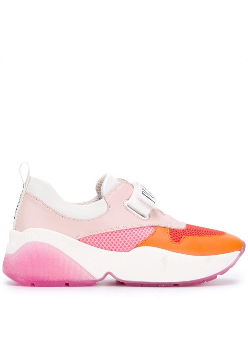 Emilio Pucci logo touch strap sneakers