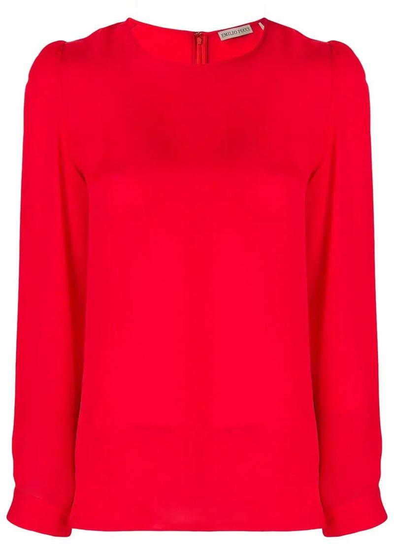 Emilio Pucci long sleeve blouse