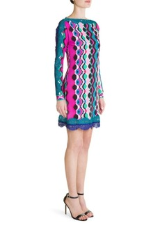 Emilio Pucci Marilyn Lace Hem Sheath Dress