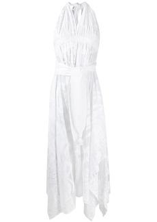 Emilio Pucci mesh halterneck dress