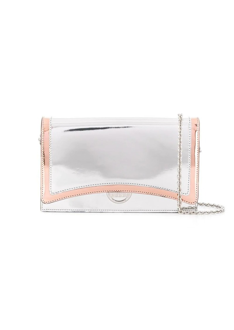 Emilio Pucci metallic sheen cross-body bag