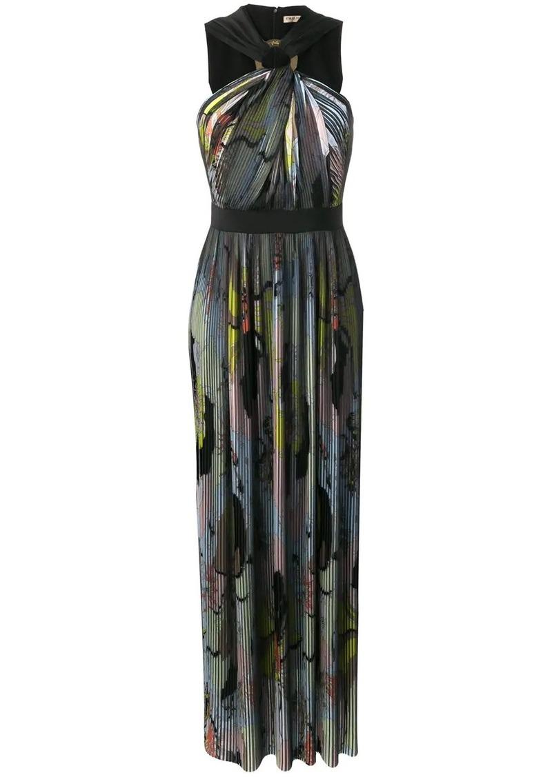 Emilio Pucci Mirabilis Print Plissé Pleated Dress