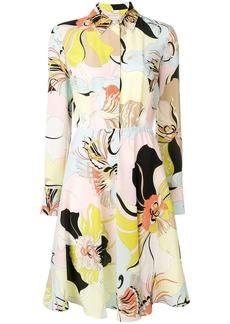 Emilio Pucci MIrabilis Print Shirt Dress