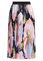 Emilio Pucci Mirabilus Pleated Maxi Skirt