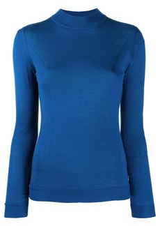 Emilio Pucci mock neck knitted top