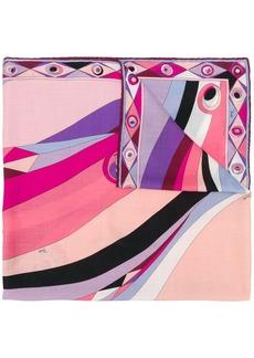 Emilio Pucci Occhi-print scarf