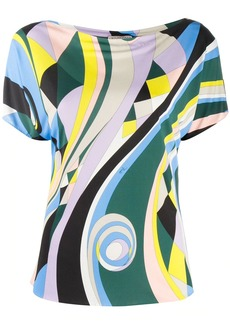 Emilio Pucci Occhi-print T-shirt