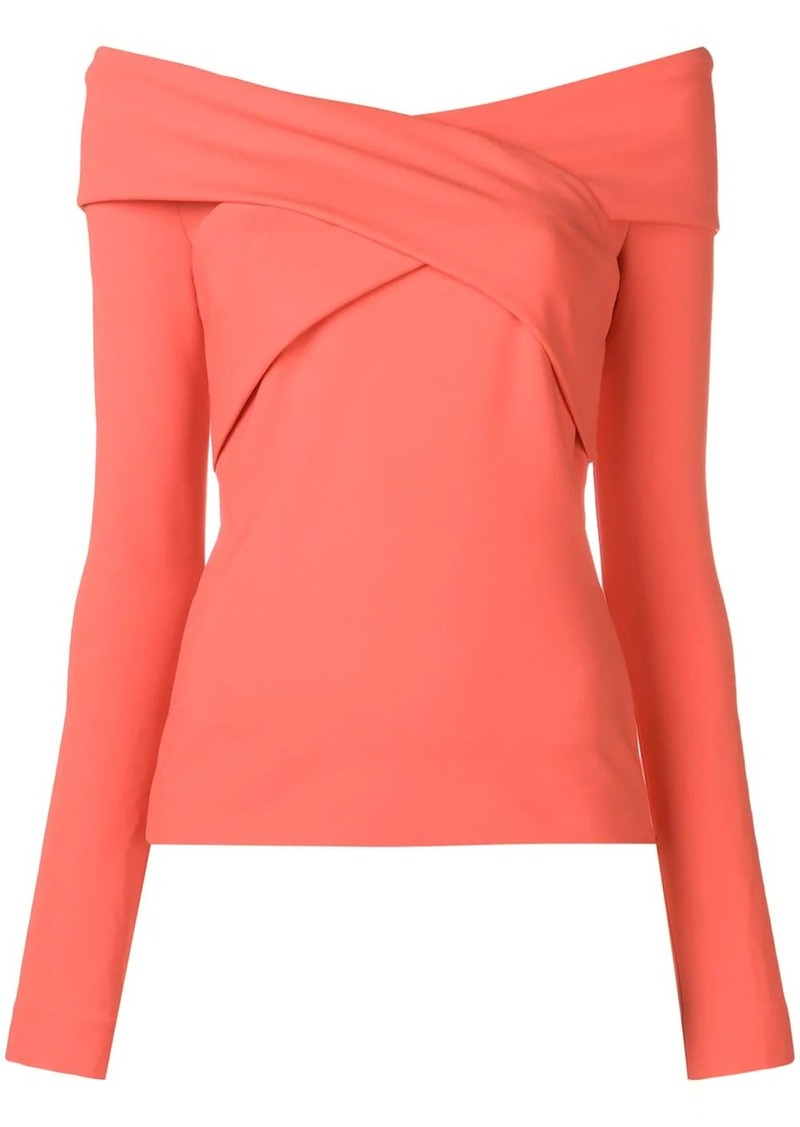 Emilio Pucci Off-Shoulder Crossover Top