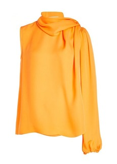 Emilio Pucci One Sleeve Silk Blouse