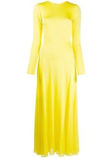 Emilio Pucci open-back long dress
