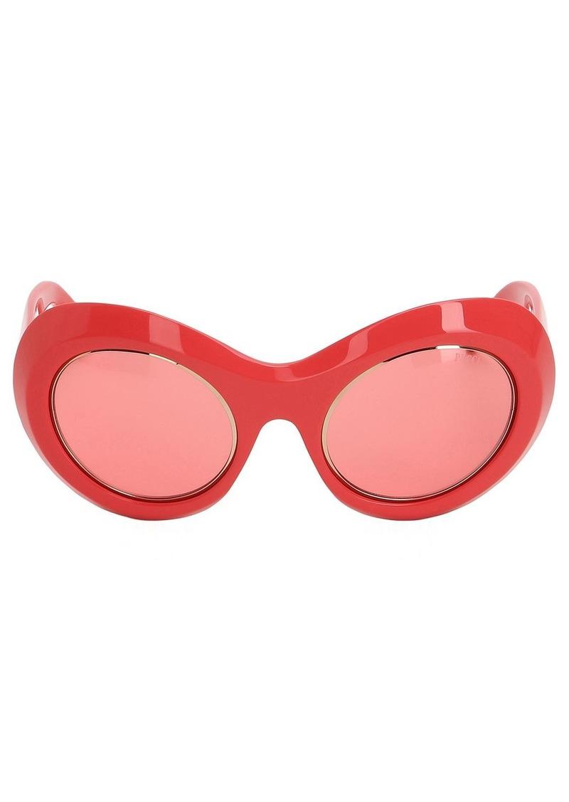 Emilio Pucci Oval Sunglasses