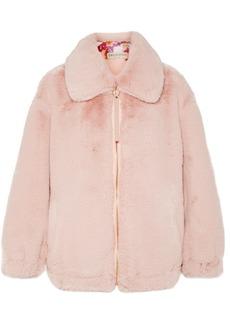 Emilio Pucci Oversized Faux Fur Jacket