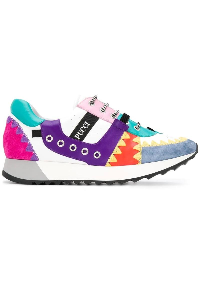 Emilio Pucci Patchwork sneakers