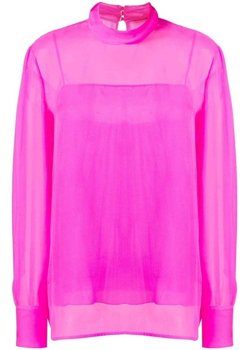 Emilio Pucci high-neck silk top