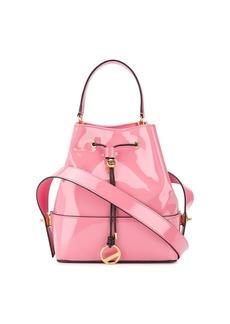Emilio Pucci Pink Patent Leather Bonita Bucket Bag