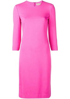Emilio Pucci Pink Punto Milano Knit Dress
