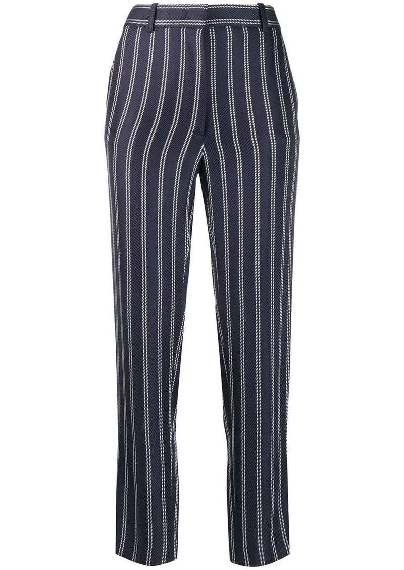 Emilio Pucci pinstripe cropped trousers