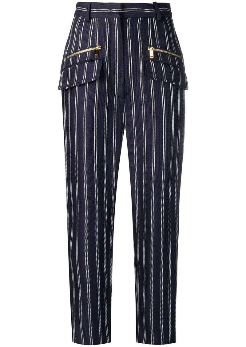 Emilio Pucci Pinstripe Jacquard Trousers