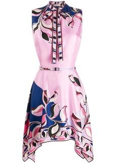 Emilio Pucci printed asymmetric dress