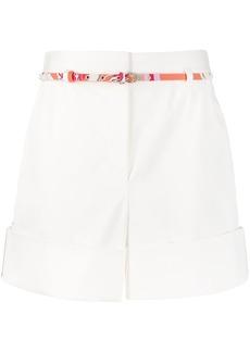 Emilio Pucci printed details short shorts