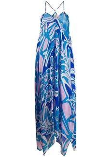 Emilio Pucci printed georgette dress