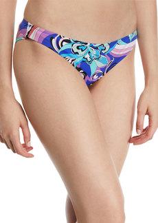 Emilio Pucci Printed Hipster Bikini Swim Bottom
