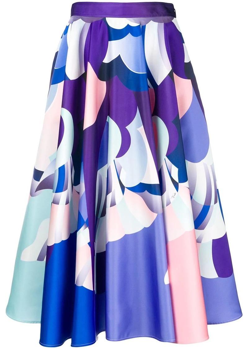 Emilio Pucci printed midi skirt