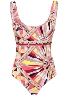 Emilio Pucci Printed One Piece Swimsuit