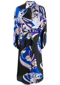 Emilio Pucci printed shirt dress