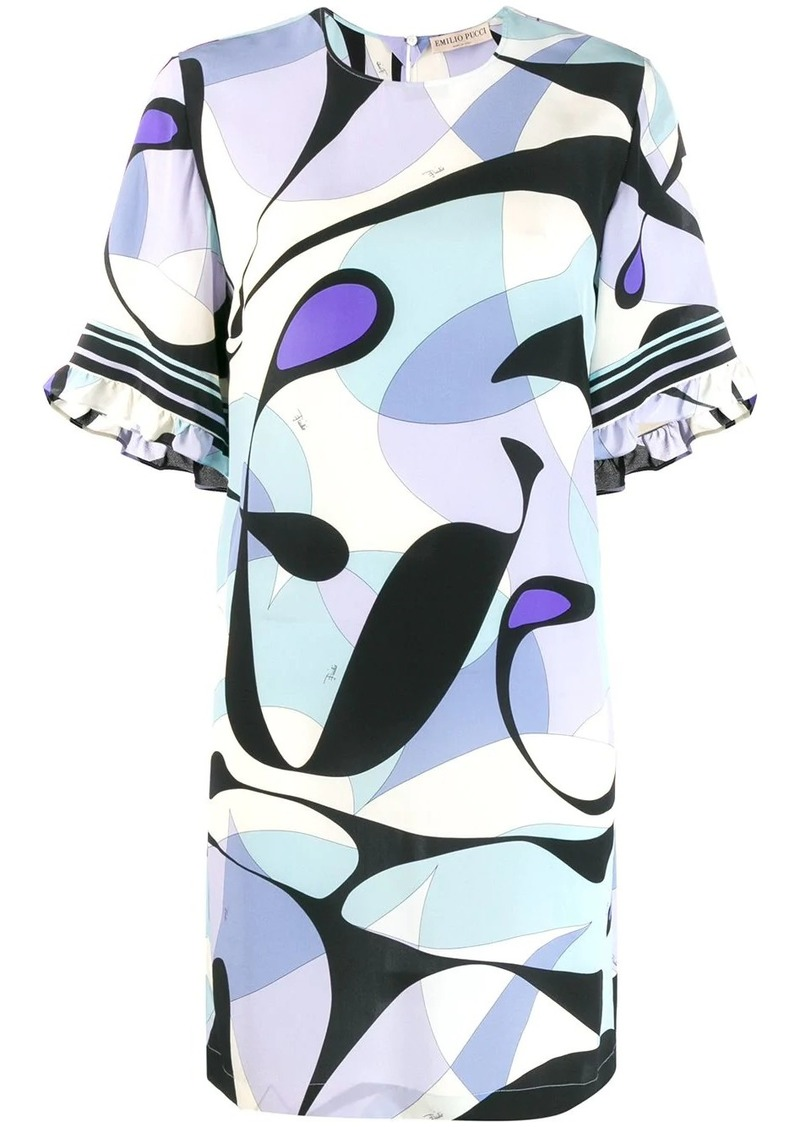 Emilio Pucci printed short dress