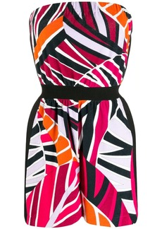 Emilio Pucci printed short playsuit