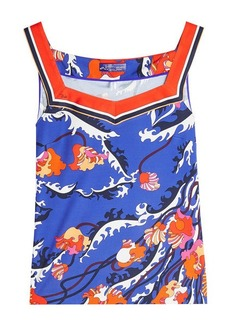 Emilio Pucci Printed Top with Silk