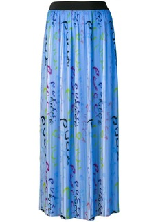 Emilio Pucci Pucci Pucci Print Plissé Pleated Skirt