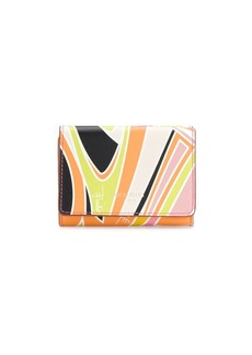 Emilio Pucci Quirimbas print tri-fold wallet