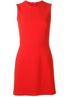 Emilio Pucci Red Sleeveless Wool Mini Dress