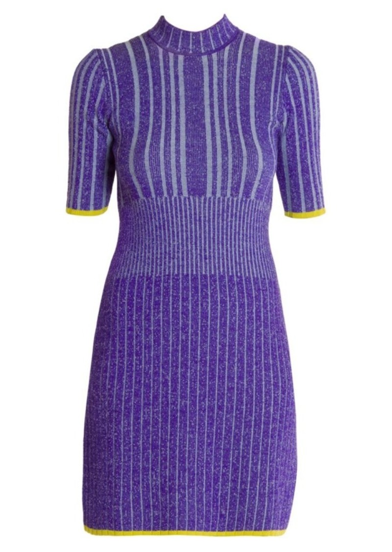 Emilio Pucci Rib-Knit Wool Sweater Dress