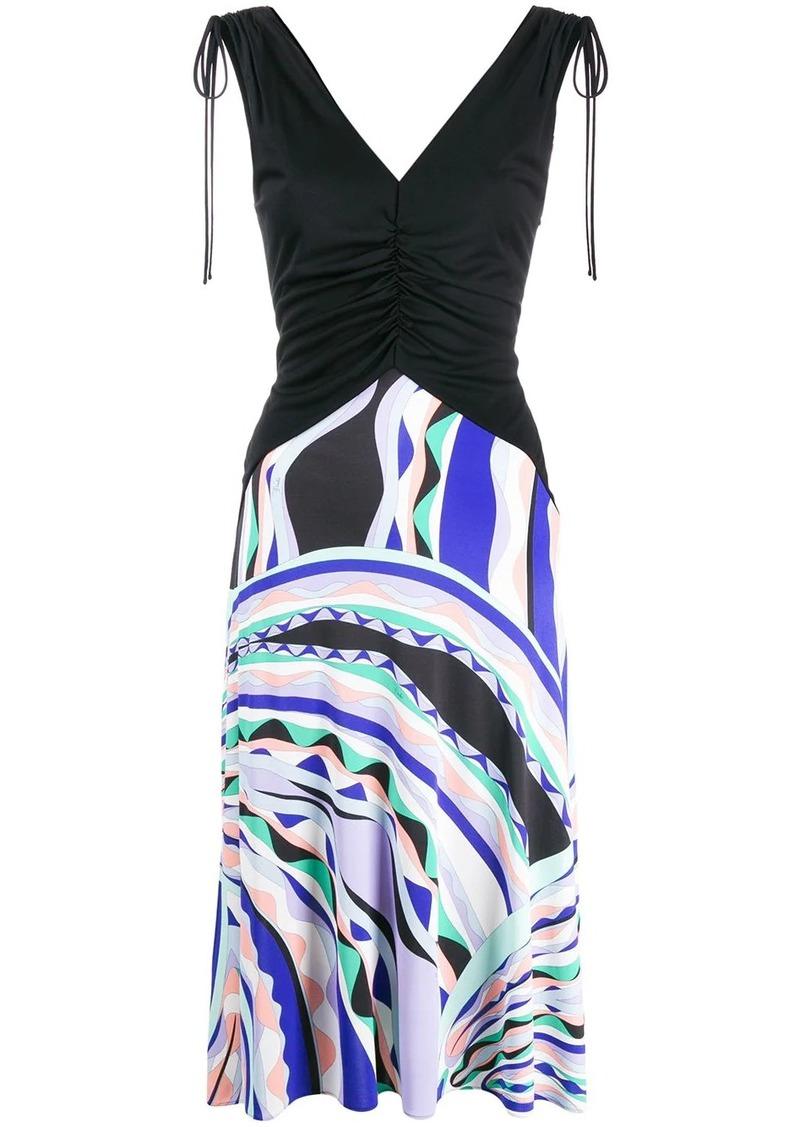 Emilio Pucci Riviera print dress