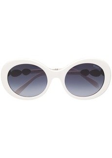 Emilio Pucci round frame embellished sunglasses