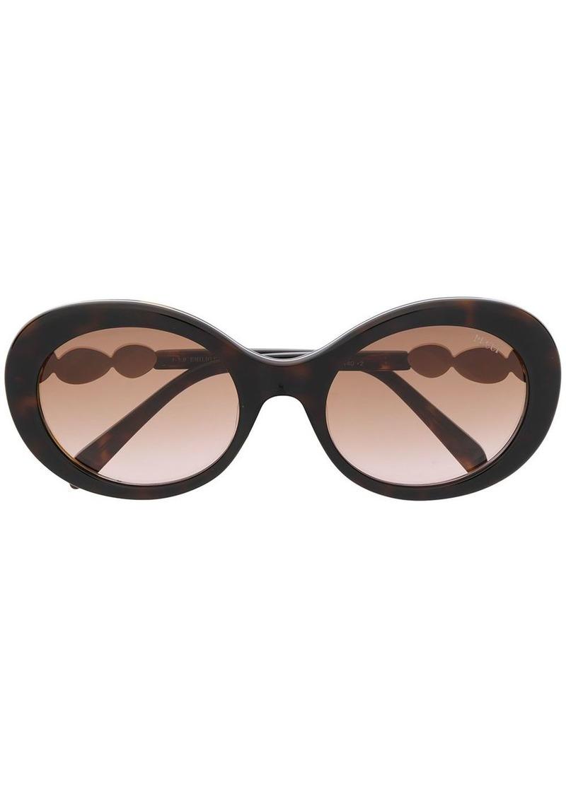 Emilio Pucci round frame tinted sunglasses