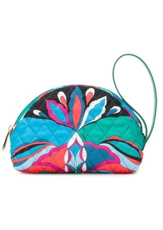 Emilio Pucci rounded make-up bag